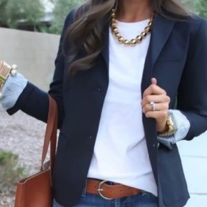 GAP Academy Wool Blend, Navy Blazer Lined Cuffs 8